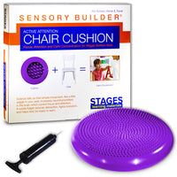 Active Attention Chair Cushion Prpl Sensory Builder