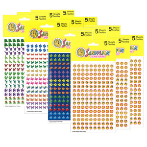 (3 Pk) Chart Stickers Variety Pack