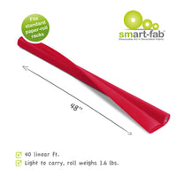 Smart Fab Roll 48x40 Cranberry