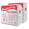 (2 Ea) Sandtastik White Play Sand 25lb Box