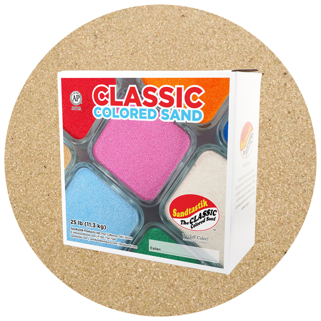 Classic Colored Sand 25lbs Beach