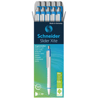 Schneider Slidr Xite Pen Grn 10-bx Environmental Retractable Ballpoint