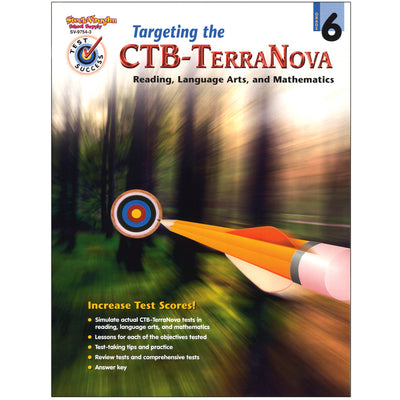 Test Success Targeting The Ctb- Terranova Gr 6