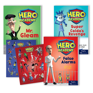 Hero Academy Lvld Readers Gr 3 590l