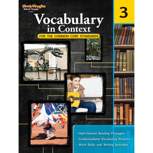 GR 3 VOCABULARY IN CONTEXT FOR THE