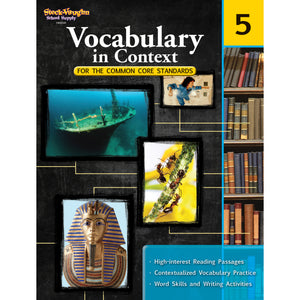 GR 5 VOCABULARY IN CONTEXT FOR THE