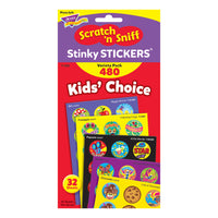 STINKY STICKERS ROUND SUPER 480/PK
