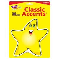 CLASSIC ACCENTS SHINING STARS 36/PK