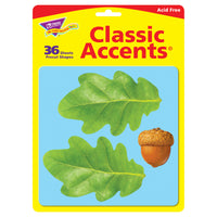 OAK LEAVES/ACORNS CLASSIC ACCENTS