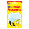 Mini Accents Bee 36-pk 3in