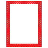 Polka Dots Red Terrific Papers