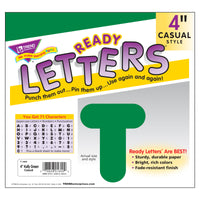 Ready Letters 4 Casual Kelly Green - Student Spotlight