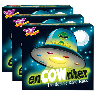 (3 Ea) Encownter Three Corner Card Game
