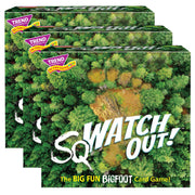 (3 Ea) Sqwatch Out 3 Corner Card Game
