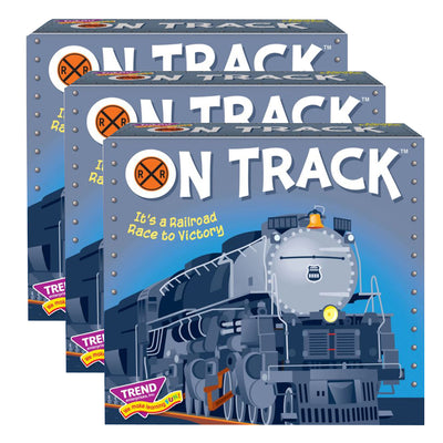 (3 Ea) On Track Three Corner Card Game