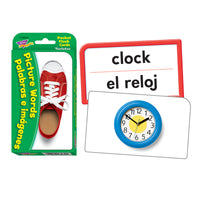Pocket Flash Cards Picture Words Palabras E Imagenes