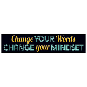 Change Your Words Banner