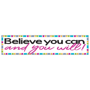 Believe You Can And You Will Banner - Student Spotlight