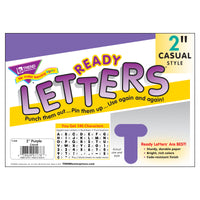 (6 Pk) Ready Letters 2in Casual Purple