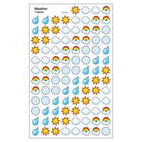 (6 Pk) Supershape Stickers Weather
