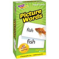 (2 Pk) Flash Cards Picture Words 96 Per Box