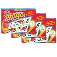 (3 Ea) Bingo Numbers Ages 4 & Up - Student Spotlight