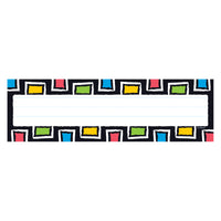 (6 Pk) Rectangle Desk Toppers Name Plates 36 Per Pack