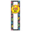 Rectangles Desk Toppers Name Plates 36ct