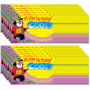 (12 Pk) Awards Its Your Birthday Cool 30 Per Pk 5x8 - Student Spotlight