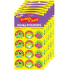 (6 Pk) Ribbeting Rewards-pineapple Stinky Stickers