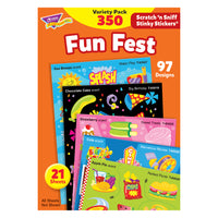 (3 Pk) Stinky Stickers Mixed Shapes 350 Per Variety Pk Acid-free