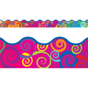 (6 Pk) Rainbow Swirls Terrific Trimmer