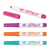 (6 Pk) Wipe Off Marker 4 New Colors Per Pk