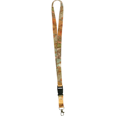 Travel The Map Lanyard