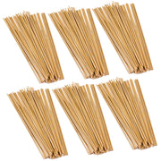 (6 Pk) Stem Basics 1-8 Wood Dowels 100 Count