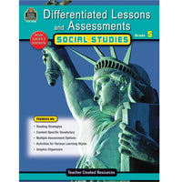 Differentiated Lessons  Assessments Social Studies Gr 5