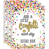 (3 Ea) Confetti Record Book