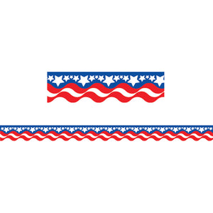 (12 Pk) Patriotic Border Trim