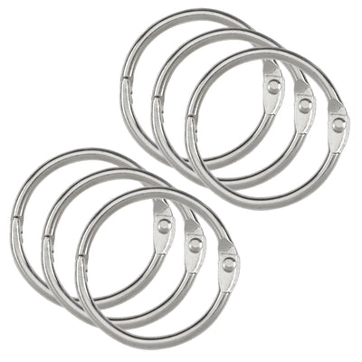 (6 Pk) 6 Pack 1.5 Inch Binder Rings