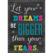Let Your Dreams Positive Poster