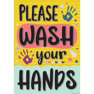 Please Wash Your Hands Poster - Student Spotlight