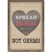 Spread Kindness Not Germs Poster - Student Spotlight