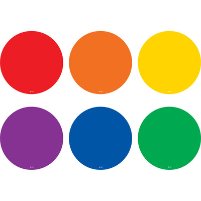 Colorful Circles Carpet Markers Spot On