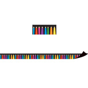 (3 Pk) Magnetic Border Colored Pencils