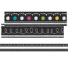 (3 Pk) Chalkboard Brights Ribbon Runner - Student Spotlight