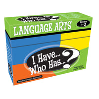 I Have Who Has Language Arts Games Gr 1-2