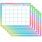 (6 Ea) Colorful Vibes Calendar Chart