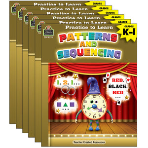 (6 Ea) Practice To Learn Patterns & Sequencing Gr K-1