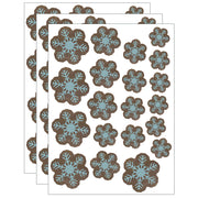 (3 Pk) Snowflakes Accents Assorted Sizes Home Sweet Classroom