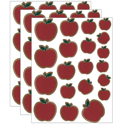 (3 Pk) Apples Accents Assorted Sizes Home Sweet Classroom